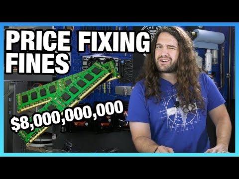HW News - NVIDIA GPU Overstock, RAM Price Fixing Fines