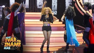Eva Burešová jako Beyoncé