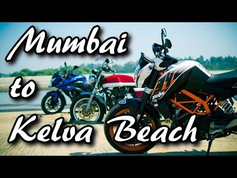 Mumbai to Kelva Beach Resort | Bike Ride | Surya River Dam, Manor
