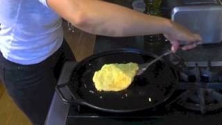How To Make A Chickpea Flour Omelet