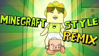 Download Minecraft Style Remix - Approaching Nirvana Mp3 and Videos