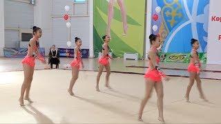 Завершился молодежный чемпионат РК по художественной гимнастике