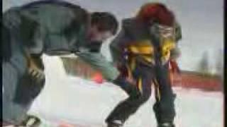 Видео уроки Сноубординг Ollie