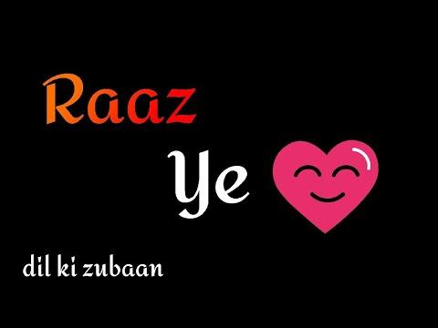 Raaz Ye Dil Hindiurdu Shayari 2 Line Shayari Dil Ki Zubaan