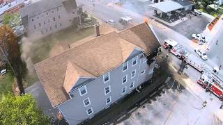 Worcester MA: 2nd Alarm Fire, 58 West Boylston Street