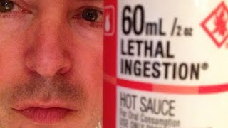Dad eats Lethal Injestion sauce : Hot Sauce Review, Crude Brothers
