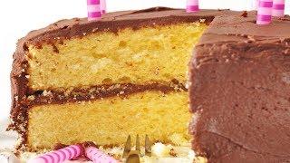 Yellow Butter Cake Recipe Demonstration - Joyofbaking.com