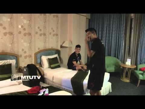 MTUTD.TV ดูห้องพักนักเตะกิเลนผยองเกมเยือนชัยนาท