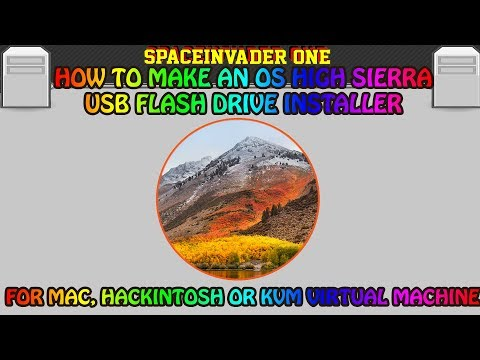 How to easily make a High Sierra USB installer for Mac, Hackintosh or KVM