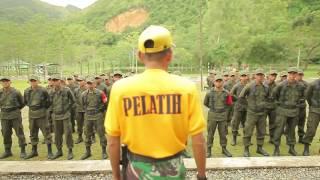 DODIK BELA NEGARA RINDAM IM BERHASIL DIDIK SISWA WASBANG BELA NEGARA PT. PIM TAHUN 2016