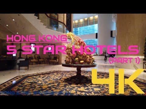 HONG KONG 5 STAR HOTELS WALKING TOUR (PART 1)