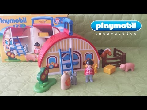 La granja de playmobil juguetes para ni os youtube for La granja de playmobil precio