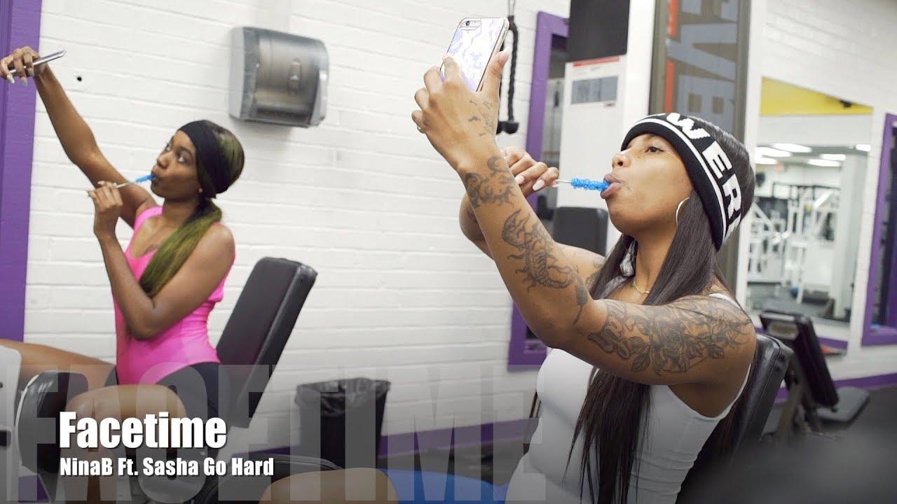 NinaB Ft. Sasha Go Hard - FaceTime (Music Video) - YouTube