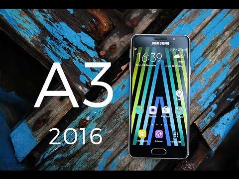 Samsung Galaxy A3 2016 - Review/Análise em Português
