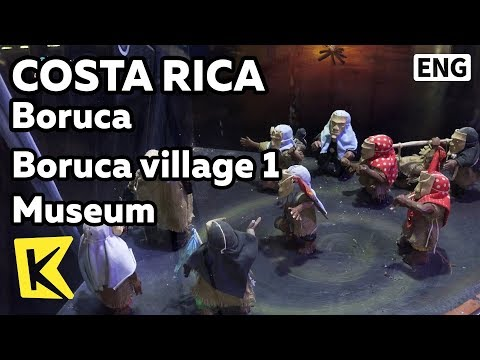 【K】Costa Rica Travel-Boruca[코스타리카 여행-보루카]보루카 마을 1 박물관/Boruca village/Museum/Mask/Devil