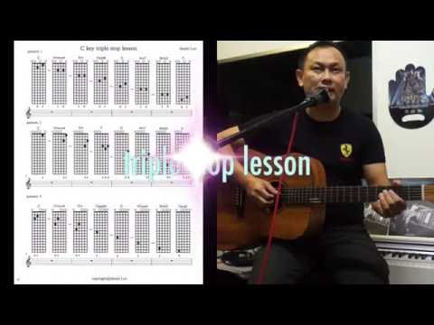 triple stop Guitar demo by daniel Leo