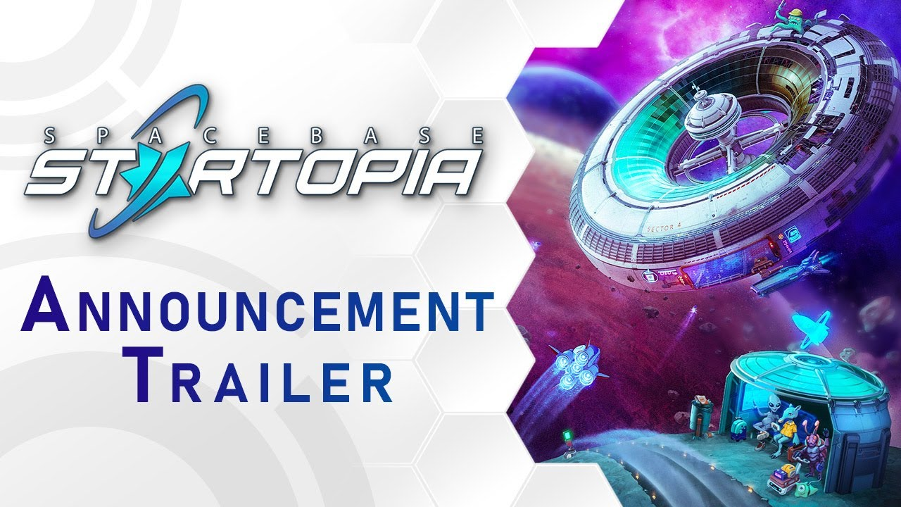 Spacebase Startopia - Announcement Trailer