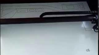 Taiere laser macheta barcuta