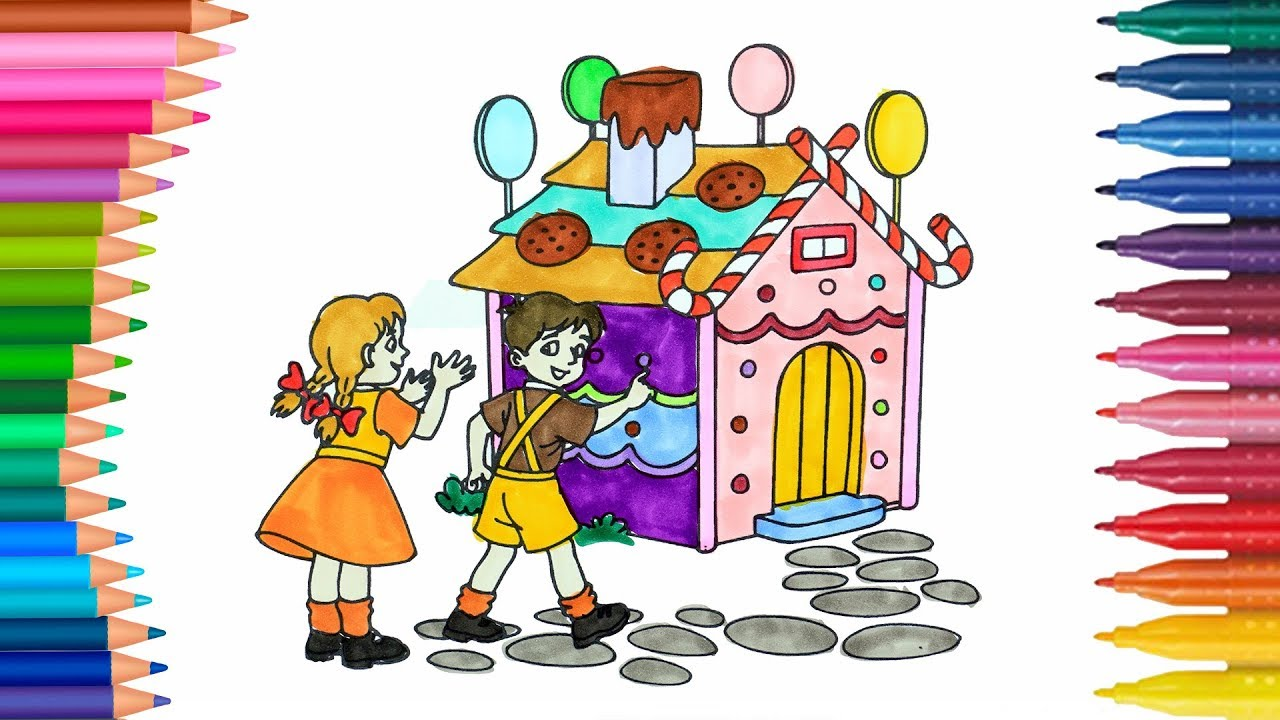 Hansel y Gretel | Dibujos Para Niños | Learn Colors - YouTube