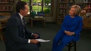 Hillary Clinton full CNN interview (part 1)