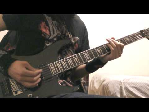 Escape the fate-the Aftermath (3G) guitar cover. (with solo)