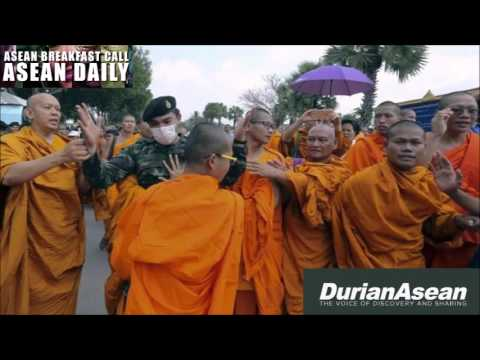 [16 FEB 2016] Monks Protest Over Thai Leadership & other news