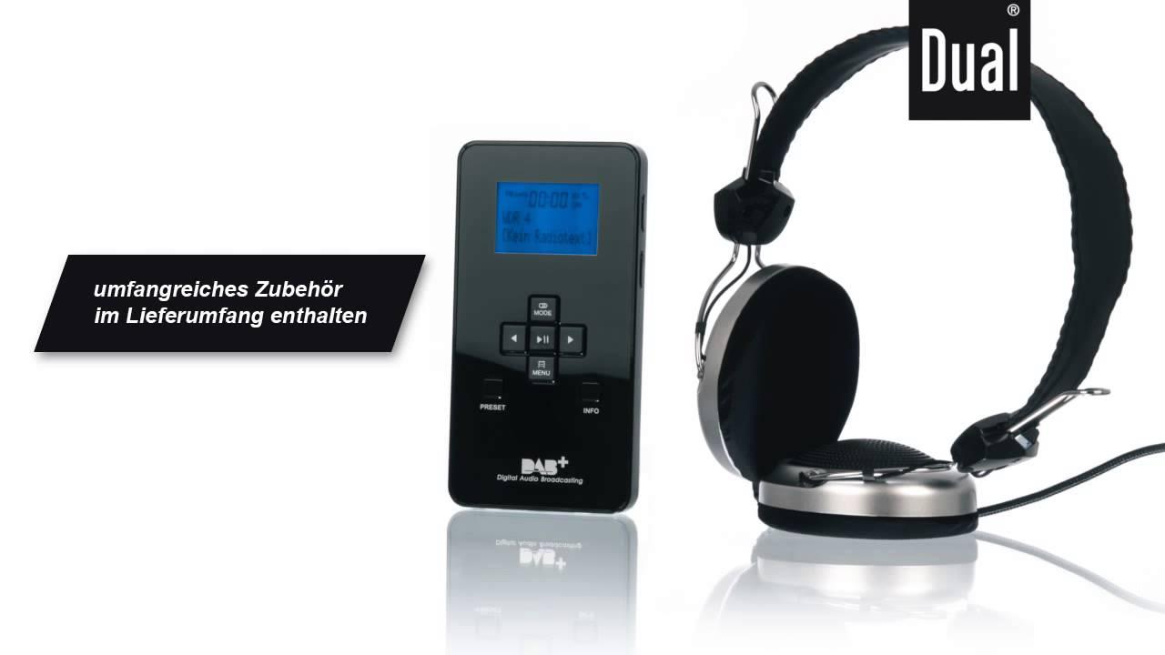 dual dab digitalradio pocket radio 3 sd mit mp3 player. Black Bedroom Furniture Sets. Home Design Ideas