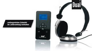 Dual DAB (Digitalradio) Pocket Radio 3 SD mit MP3-Player und SD-Card