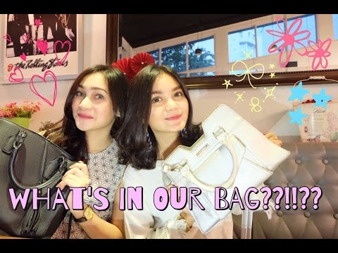 WHAT'S IN OUR BAG??!? (INDONESIA)