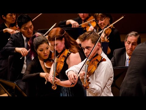 Mozart's Sinfonia Concertante for Violin, Viola and Orchestra - ft. Erin Keefe and Matthew Lipman