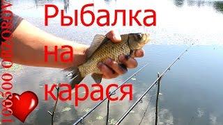 Рыбалка карася на поплавок.(Посмотреть все видео https://www.youtube.com/playlist?list=UUJh_UWT3lhXX2ySA-StJ-Wg Рыбачил в конце мая со своего мостика. Поймал всего..., 2015-06-02T13:28:54.000Z)