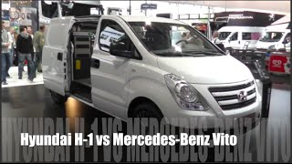Hyundai H 1 2015 vs Mercedes Benz Vito 2015
