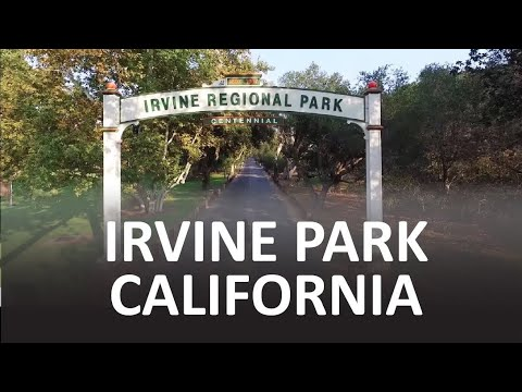 Irvine Park California from the Air - Aerial Drone Film Reel #1