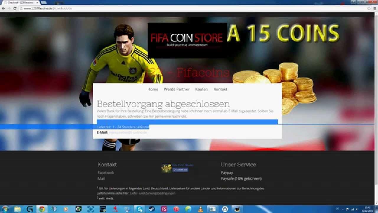Auf Unserer Webseite Münzen Kaufen Fifa 15 Ultimate Team
