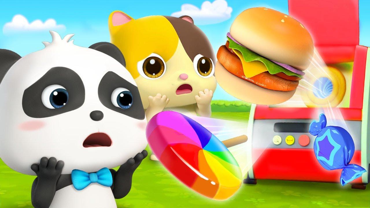 神奇美食機 | 奇妙漢字卡通 | 學漢字動畫 | 寶寶巴士 | 奇奇 | BabyBus