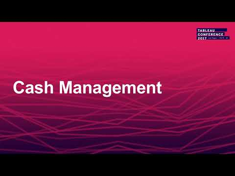 Tableau for Finance: Cash flow analysis