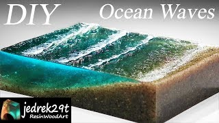 Ocean Waves  from Resin Dioram…