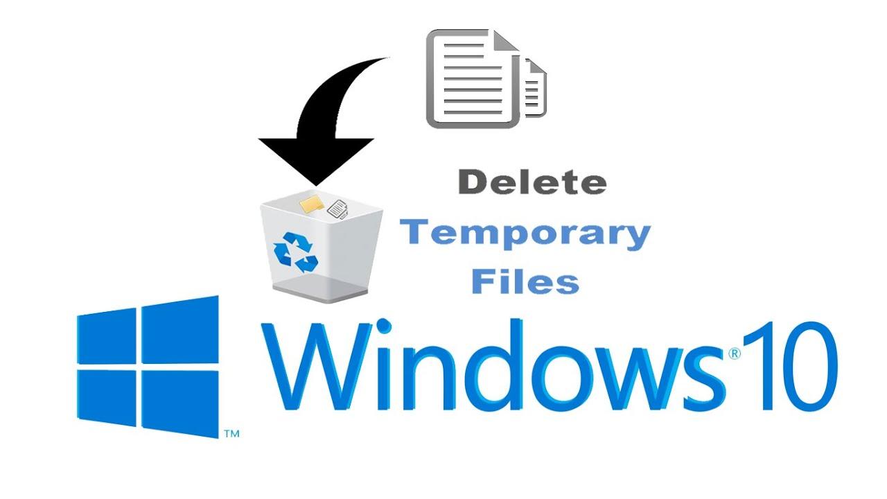 delete temporary files in windows 10 youtube. Black Bedroom Furniture Sets. Home Design Ideas