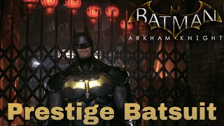 Prestige Suit Batman Arkham Knight