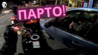 Ο BUSA, το αυτοκίνητο και ένα μπουκάλι στη μάπα│ motovlog #217