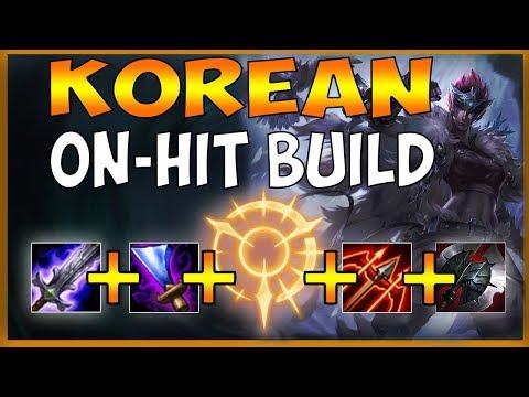 #1 QUINN PLAYS NEW KOREAN ON-HIT QUINN BUILD (1V3 TRIPLE KILL) - League of Legends