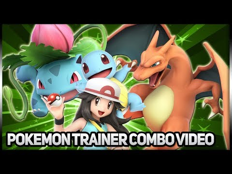 Pokemon Trainer Combos/Highlights | Super Smash Bros Ultimate thumbnail