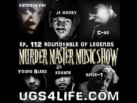 Legends Round Table with Spice-1, JT Money, Young Bleed, Gangsta Pat, C-Bo, and Kokane
