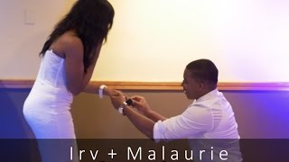 Irv + Malaurie Surprise Engagement All White Party - GH4 25mm
