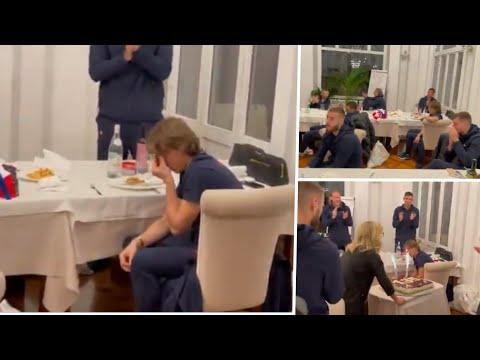 Las lágrimas de Modric al hacer historia con Croacia