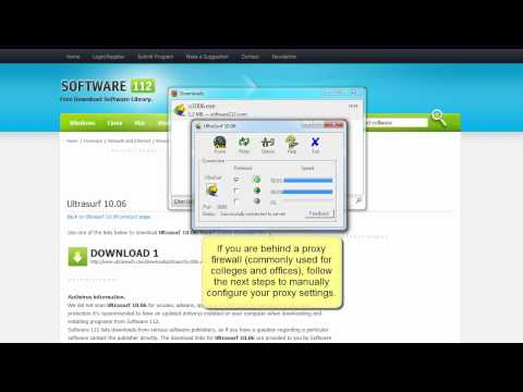 Ultrasurf - download, install and use