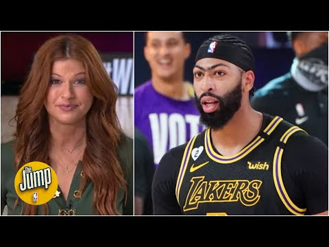 Anthony Davis had his own Kobe moment for the Lakers | The Jump