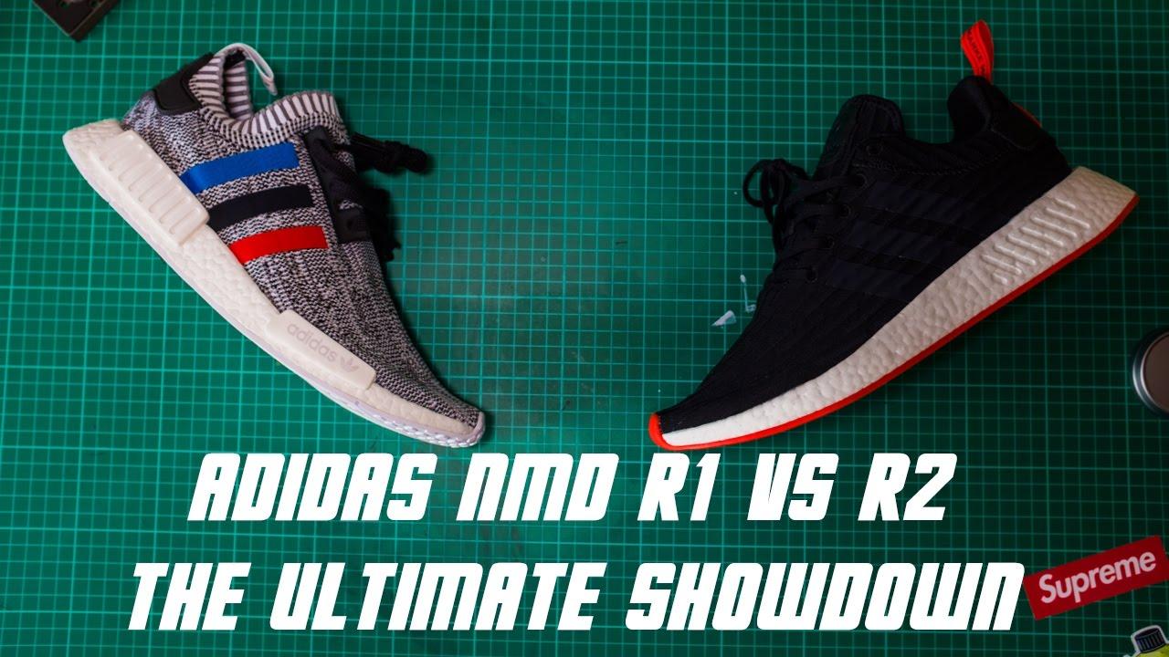 adidas nmd r1 r2 che è meglio in piedi, vs revisione definitiva