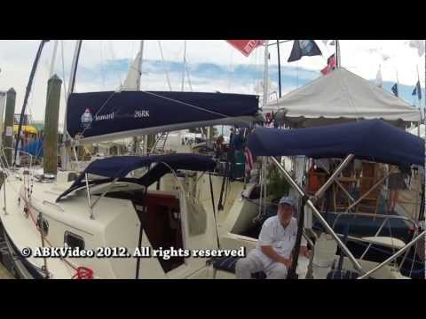 Seaward Hake 26 RK (Retractable Keel) by ABK Video @ Fall 2012 Annapolis Boat Show