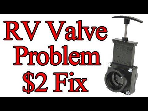 $2 Fix RV Tank Valves Hard To Pull